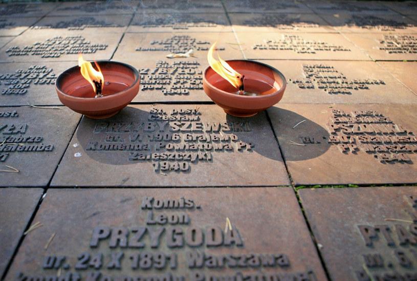 Cmentarz, na którym pochowani są zabici w Twerze jeńcy obozu w Ostaszkowie /Agata Pilarska-Jakubczak /East News