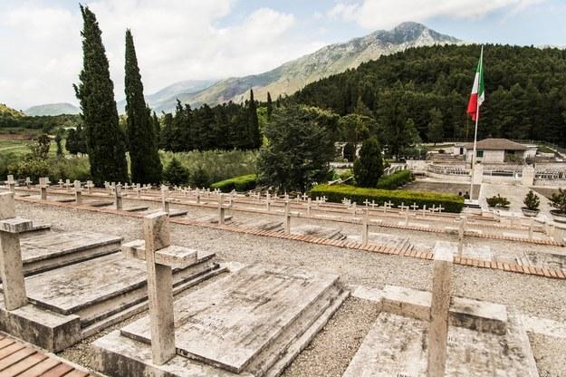Cmentarz na Monte Cassino /Alamy    /PAP