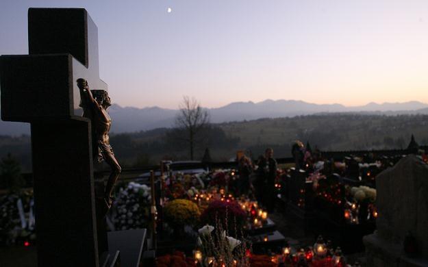 cmentarz w Zębie koło Poronina, fot. Grzegorz Momot /PAP