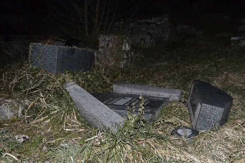 Cmentarz żydowski na Sare-Union /AFP