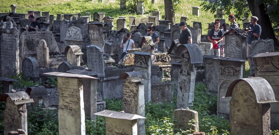 Cmentarz żydowski na ulicy Szerokiej na krakowskim Kazimierzu. /PAP/Jerzy Ochoński /PAP