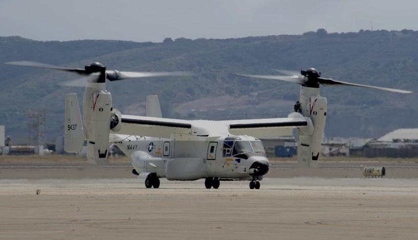 CMV-22B Osprey . Fot. US Navy /materiały prasowe