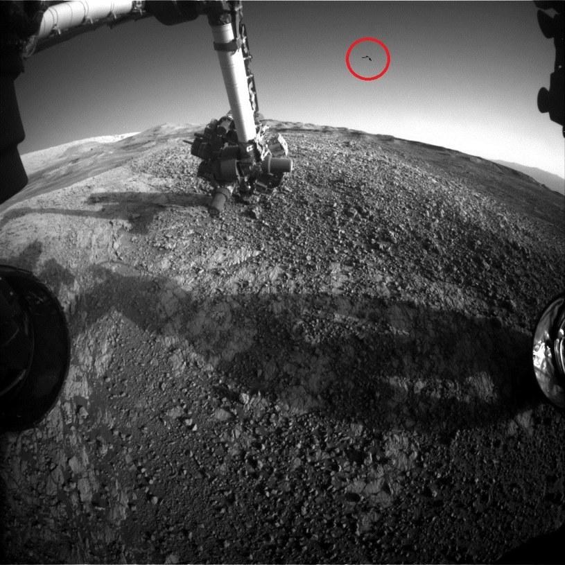 Co amerykański łazik Curiosity zobaczył na marsjańskim niebie? /NASA