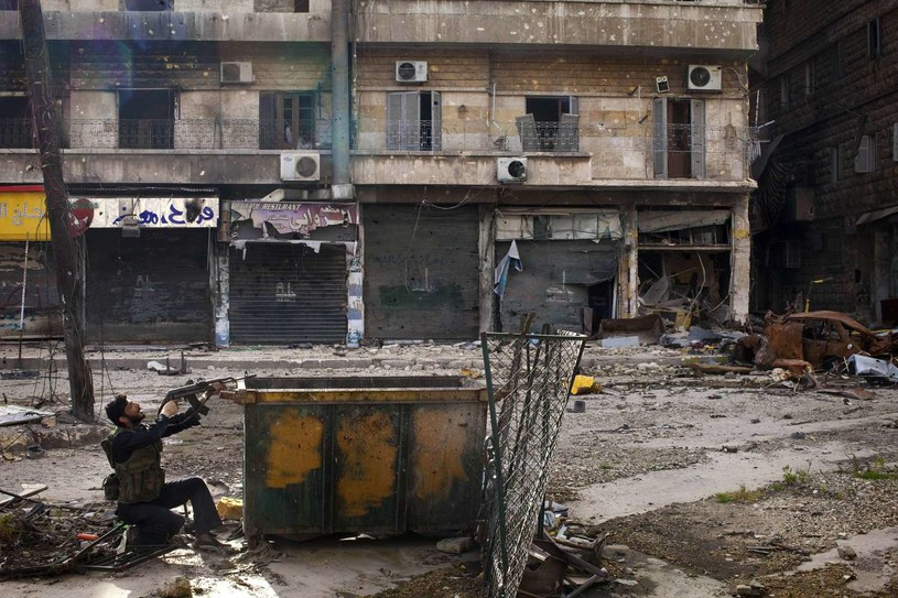 Co będzie, jeśli reżim Asada upadnie? /AFP