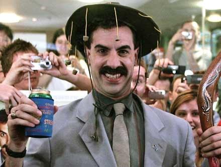 """Co będzie najpierw? Kolejny  """"Borat"""" czy """"Bruno""""? /AFP"""