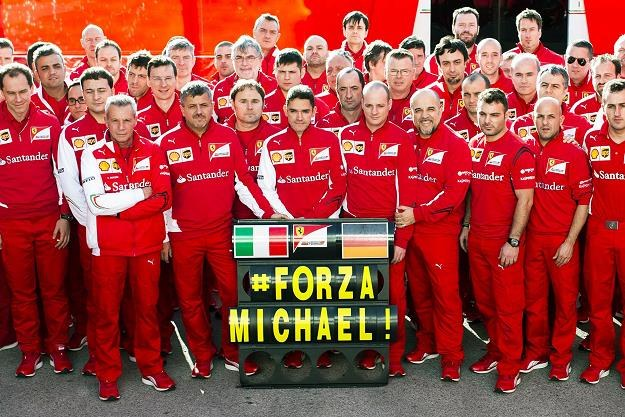 Co dalej z Schumacherem? /AFP