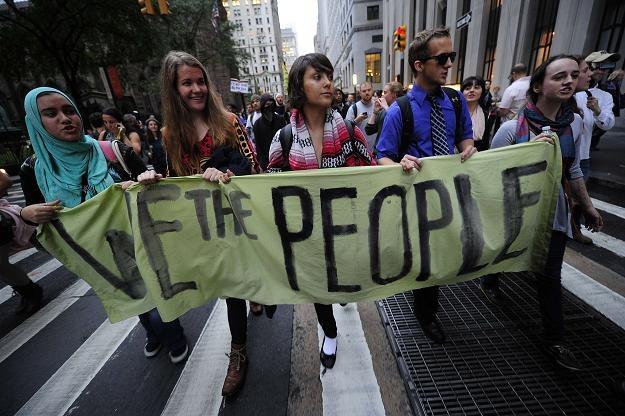 """Co dalej ze światowym ruchem """"Oburzonych""""? /AFP"""
