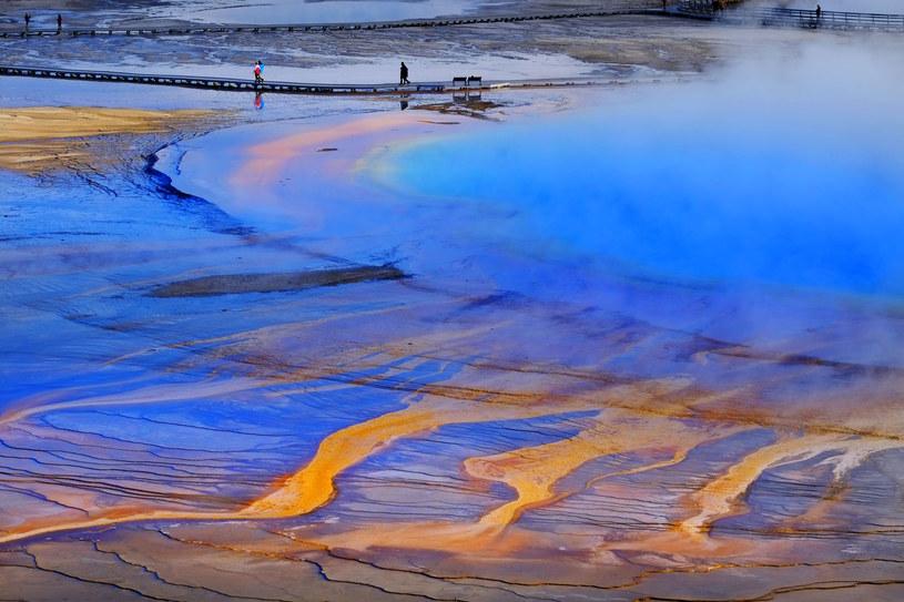 Co dzieje się w Yellowstone? /123RF/PICSEL