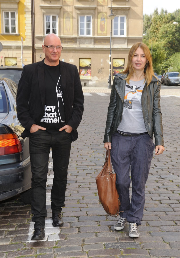 Co na rozbieraną sesję powie partner Wolszczak, Cezary Harasimowicz? /Jarosław Antoniak /MWMedia