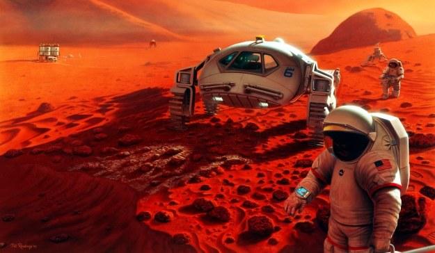 Co NASA chce znaleźć na Marsie? /NASA