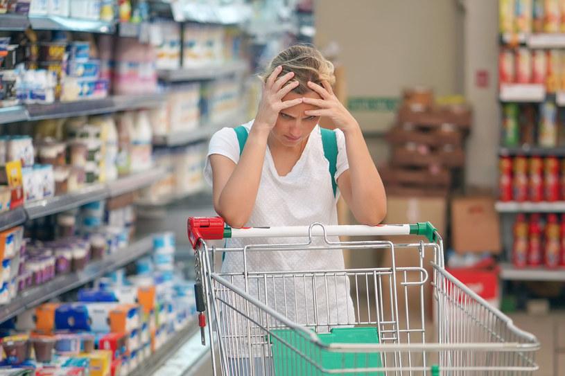 Co piąty Polak dostrzega wzrost cen artykułów spożywczych. Pozostali ankietowani podczas zakupów nie zauważyli znaczącej różnicy /123RF/PICSEL