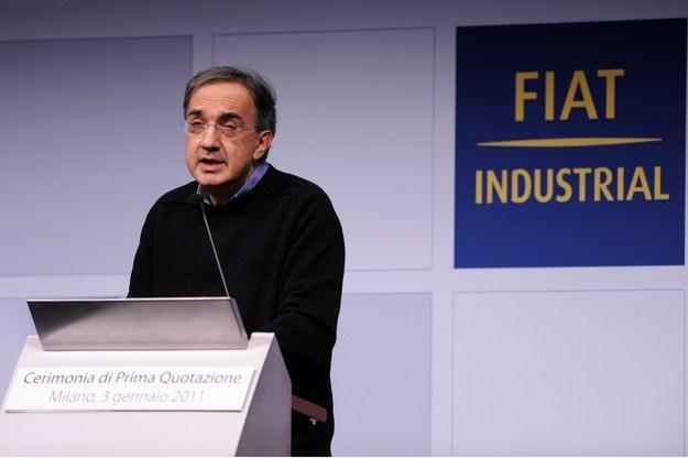 """Co planuje """"człowiek w swetrze"""", czyli Sergio Marchionne? /AFP"""