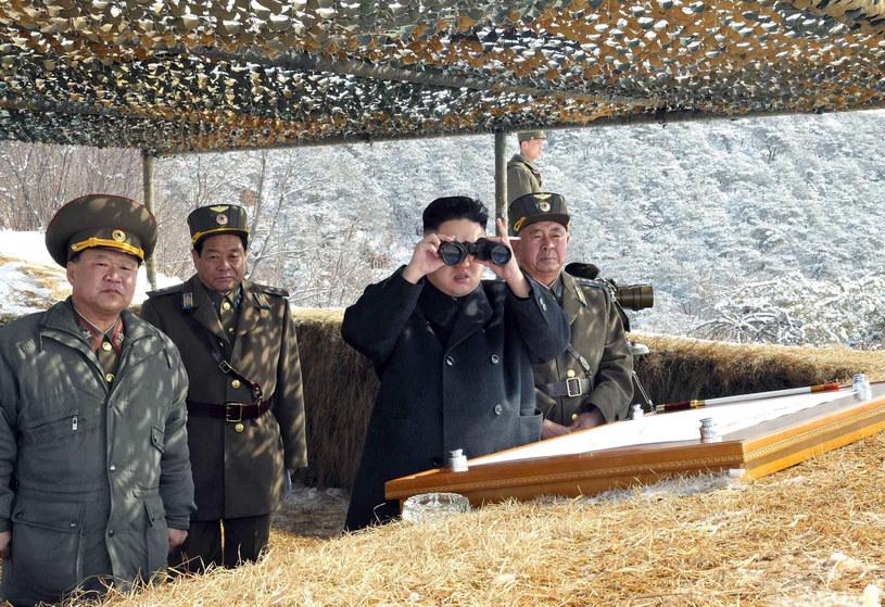 Co planuje Kim Dzong Un? /AFP