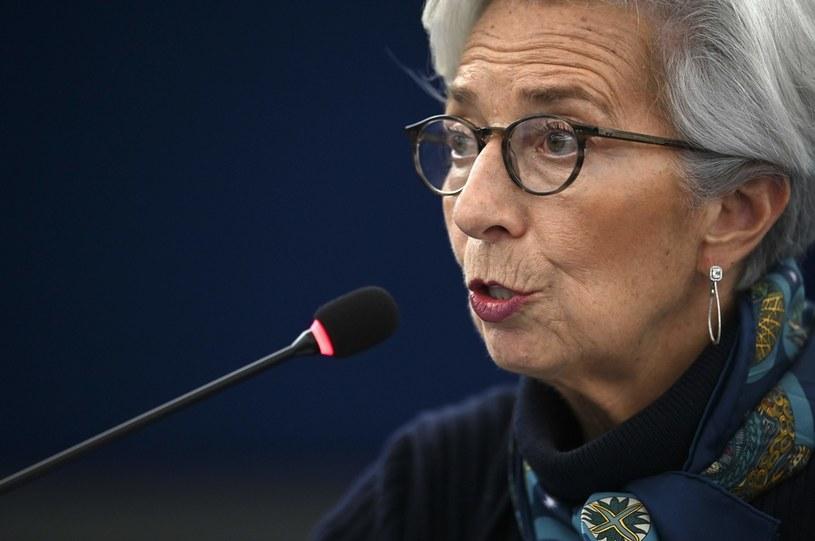 Co powie prezes EBC Christine Lagarde? /AFP