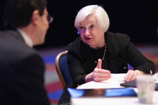 Co powie szefowa FED? /AFP
