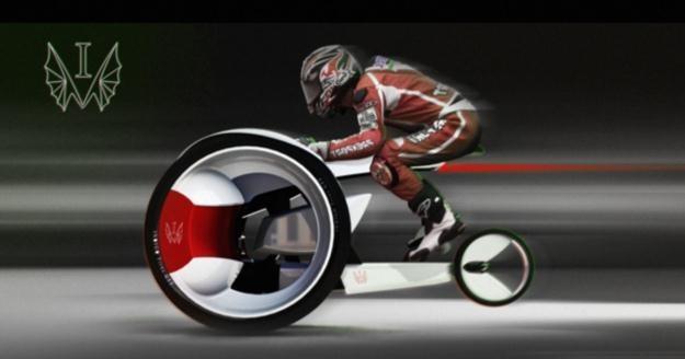 Co powiecie na taki typ motocykla?   Fot. Yanko Design /materiały prasowe