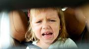 Co robić, gdy malec ma chorobę lokomocyjną?