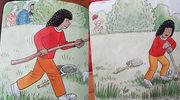 Co się dzieje za krzakami, czyli zagadkowa ilustracja w książce dla dzieci