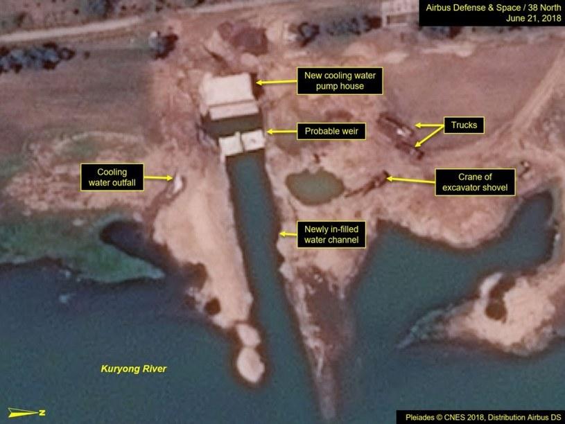 Co z obietnicami całkowitej denuklearyzacji Korei Północnej? /Fot. 38 North /materiały prasowe