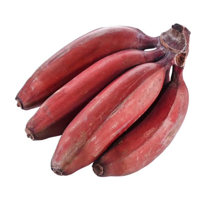 Co zawierają czerwone banany? /©123RF/PICSEL
