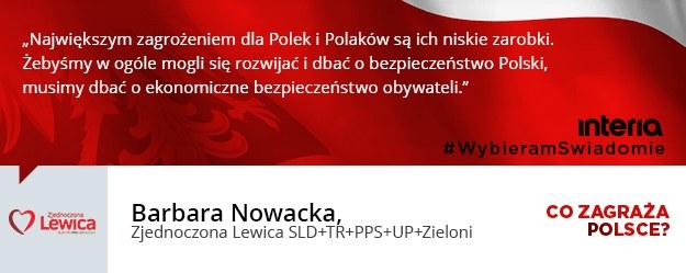 Co, zdaniem państwa ugrupowania, jest teraz największym zagrożeniem dla Polski? /INTERIA.PL
