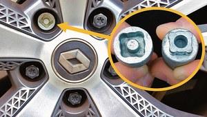 Co zrobić, gdy zginie przejściówka? Jak odkręcić śrubę zabezpieczającą koło?