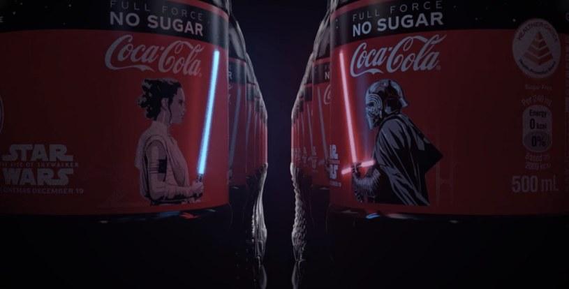 Coca-Cola wspiera Gwiezdne Wojny /materiały prasowe