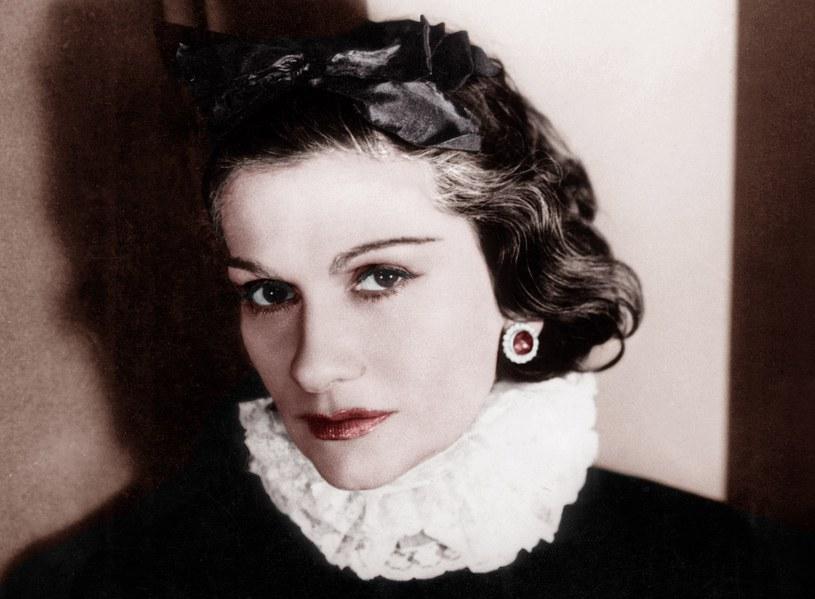 Coco Chanel nie miała kobiecych kształtów i nie była klasyczną pięknością /George Hoyningen-Huene/AGIP /Agencja FORUM