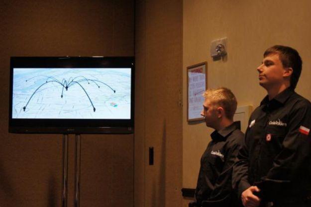 CodeRaiders podczas finałowej prezentacji w Nowym Jorku /INTERIA.PL