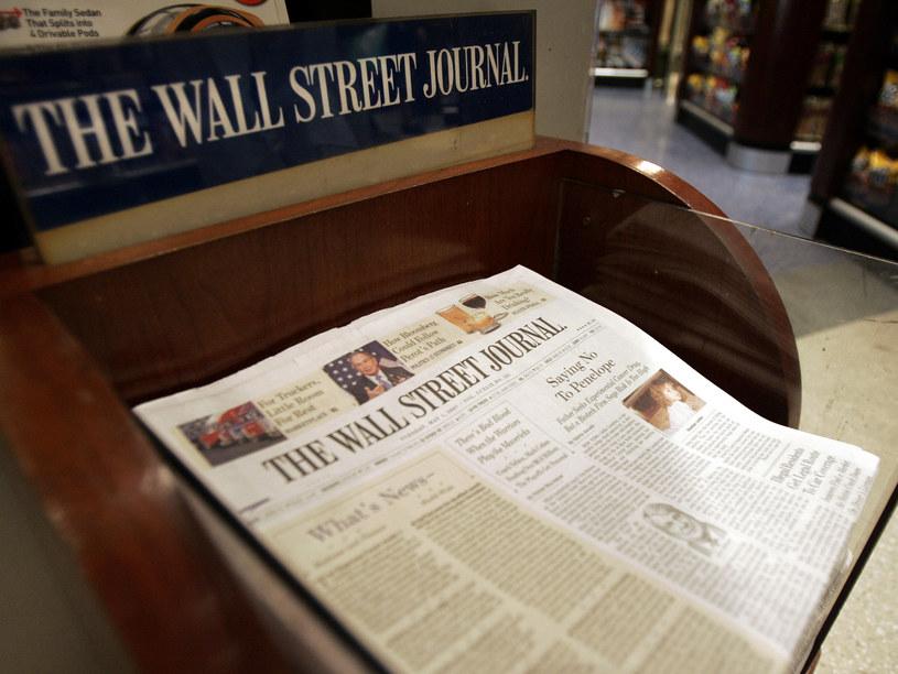 """Cofnięto akredytacje trzem dziennikarzom """"Wall Street Journal"""" w Chinach /STAN HONDA /AFP"""