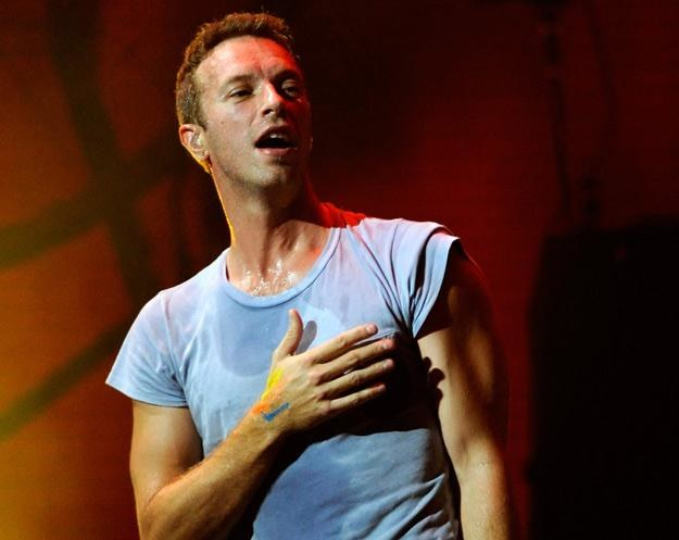 Coldplay gościli w Polsce w czerwcu na Open'erze. Na zdjęciu Chris Martin - fot. Ethan Miller /Getty Images/Flash Press Media