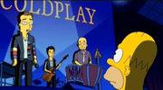 Coldplay gra dla Homera