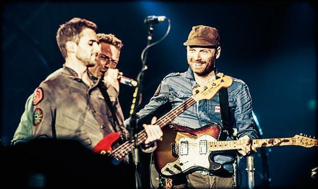 Coldplay podczas występu w Warszawie /fot. Adam Jędrysik / jedrysik.com