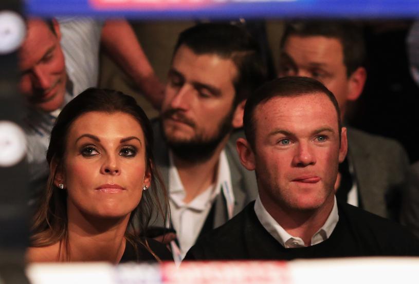 Coleen Rooney z mężem Waynem /Ben Hoskins /Getty Images