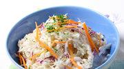 Colesław z sosem sezamowym