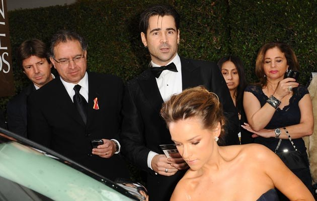 Colin Farrell i Alicja Bachleda-Curuś, fot. Michael Caulfield  /Getty Images/Flash Press Media