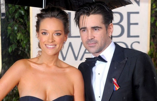 Colin Farrell i Alicja Bachleda-Curuś /Getty Images