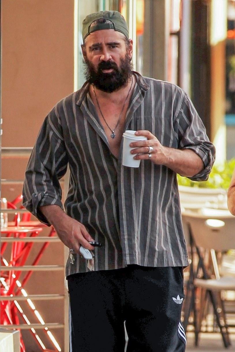 Colin Farrell na najnowszych zdjęciach nie wygląda najlepiej /brak /Agencja FORUM