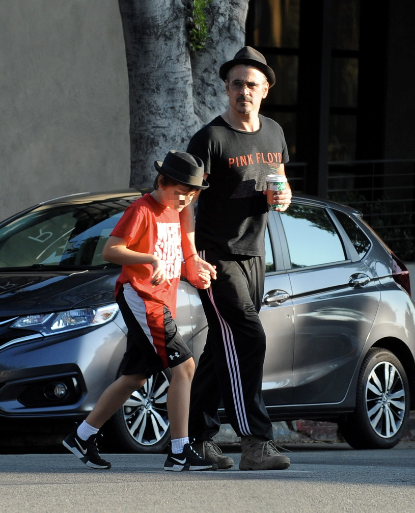 Colin Farrell z synem Henrym Tadeuszem /Agencja FORUM