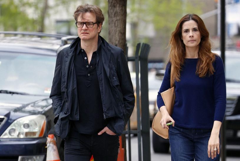 Colin Firth po 22 latach małżeństwa rozstał się z żoną /BWP Media / PacificCoastNews  /East News