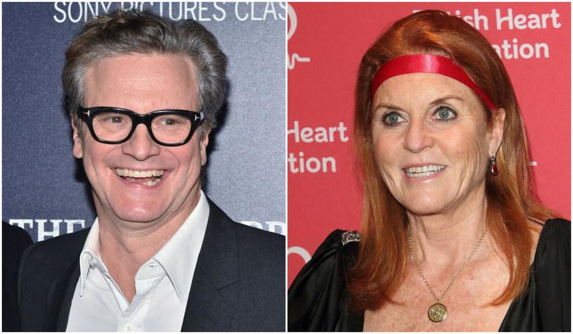 Colin Firth, Sarah Ferguson /East News