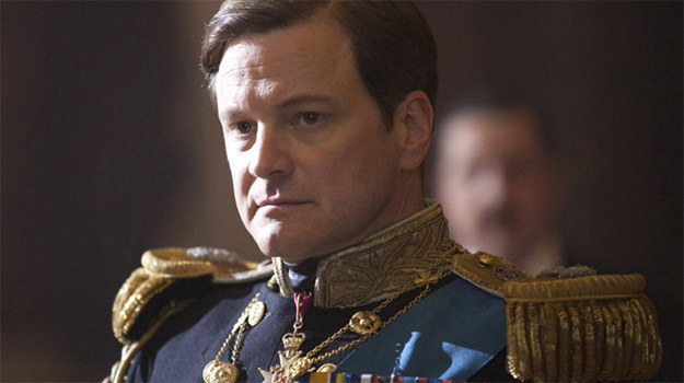 "Colin Firth w filmie ""The King's Speech"" /materiały dystrybutora"