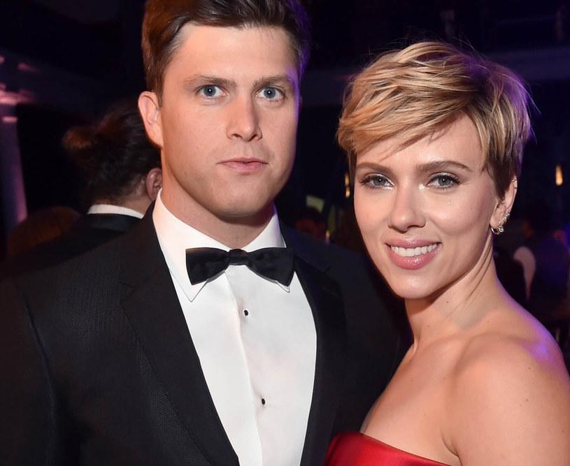 Colin Jost i Scarlett Johansson /East News