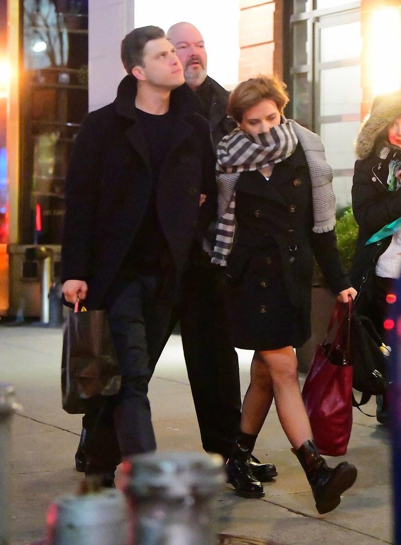Colin Jost zostanie trzecim mężem Scarlett Johansson? /East News