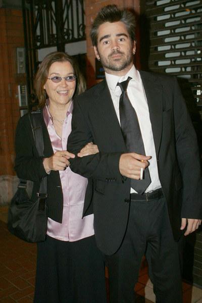 Colin z matką, Ritą Farrell  /Splashnews