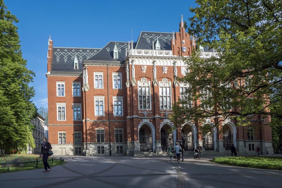 Collegium Maius UJ /Jerzy Ochoński   /PAP