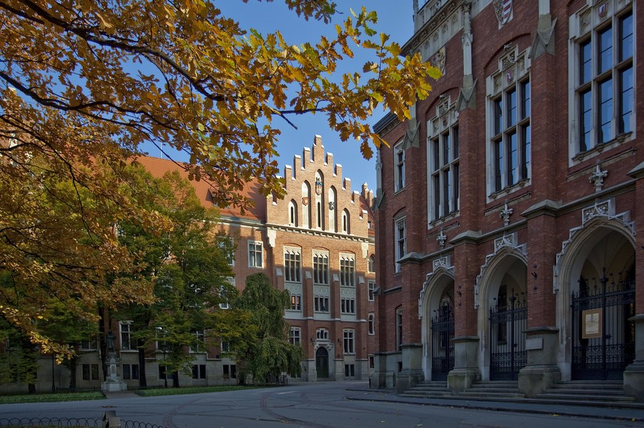 Collegium Novum, siedziba władz Uniwersytetu Jagielońskiego / Jerzy Ochoński    /PAP
