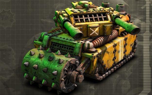 Command & Conquer: Tiberium Alliances - grafika koncepcyjna jednego z czołgów /Informacja prasowa