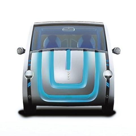 Concept car Toyoty o nazwie P.O.D też wyrażał emocje / kliknij /INTERIA.PL