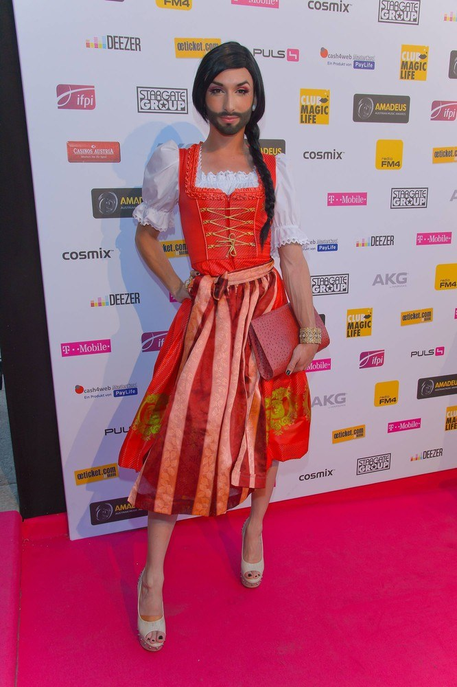 Conchita Wurst /Vienna Report/ABACA /East News